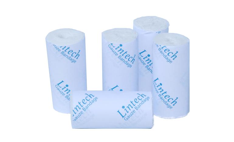 Gauze-bandagel